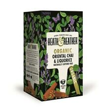 💚 Heath & Heather Organic Oriental Chai & Réglisse Infusion 20 bags