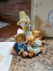 Cherished Teddies FRIENDS OF A FEATHER FLOCK TOGETHER Mother Goose Figurine