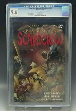 YEAR ONE BATMAN-SCARECROW CGC 9.6 GRADED DC COMICS BOOK 2005