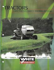 Sales Brochure for White  Lawn & Garden Tractors and Riding Mowers FR Series