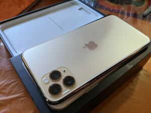 Apple iPhone 11 Pro Max 256GB Gold Unlocked 100%🔋Health Excellent!!