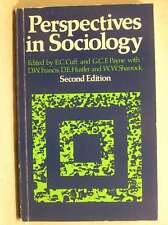 Perspectives in Sociology, Payne, George C. F., Cuff, E. C., Good Book