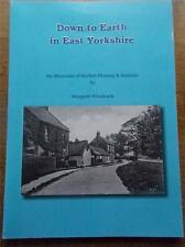 Signed Local History Book Down to Earth in Yorkshire Burton Fleming & Rudstone