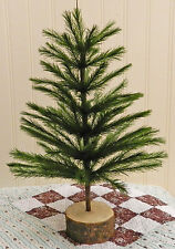 NEW MINI BUSHY GREEN FAUX GERMAN FEATHER TREE! CHRISTMAS! LIMITED QUANTITIES