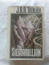 THE SILMARILLION J.R.R. Tolkien 1977 First Am. Edition, 5th printing w/Map HC/DJ