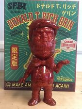 Donald T Rich Grin by Ron English DCon exclusive Red with Coin (signed!)