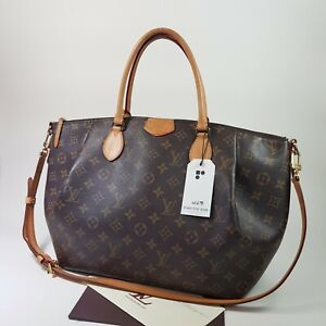 Authentic Louis Vuitton Turenne GM Monogram M48815 Guaranteed With Invoice LC678