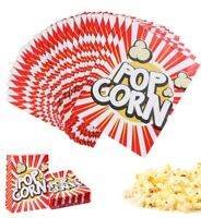 TOYMYTOY 48PC POPCORN BOXES HOLLYWOOD PARTY MOVIE CELEBRATION RETRO POPCORN BAGS