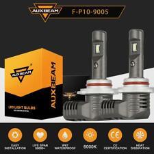 AUXBEAM 60W 7600LM 9005 HB3 LED Headlight Bulb 9145 H10 Fog Kit 6000K P10 Series