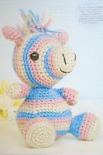 Animal Toy Zebra Crochet Pattern