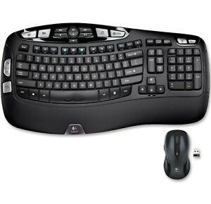 Logitech MK550 Black Wireless Keyboard with M510 Mouse Combo