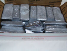 Lead Ingot Bars Good For Fishing Weight or Bullet Castings Diving weights 20 lbs