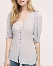 NEW Anthropologie Ghost London Meadow Thea Blouse Top Size XS