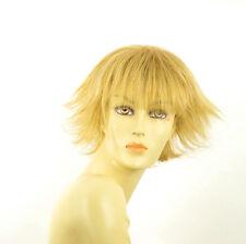 Perruque femme courte blond clair doré MELISSA LG26