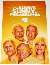 IT'S ALWAYS SUNNY IN PHILADELPHIA 11x17 Original Promo TV Poster MINT SDCC 2013