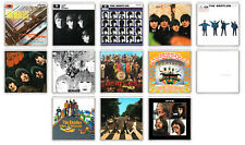 BEATLES COLLECTION OF 13 FRIDGE MAGNET LP COVERS IMANES NEVERA