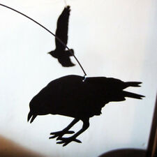 Salty and Sweet Black Bird Nevermore The Raven Hanging Modern Mobile Decor