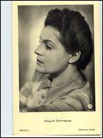 DDR Postkarte Kino Bühne Ross-Verlag  Schauspielerin AK Magda Schneider