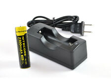 18650 Battery Charger Kit w/ 1x Nitecore 2300mAh 18650 Rechargeable Battery