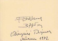 IMRE FÖLDI (†) *HUN*  >  1. Olympics 1972  / WLT - sign. card
