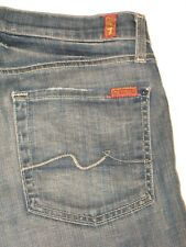 7 For all Mankind Jeans Mens Relaxed Straight Dark  31 X 28