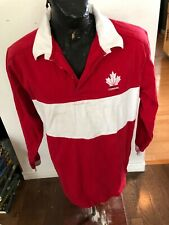 MENS XLarge Stormtech Rugby Jersey Canada Day