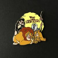Family Collection Lion King Simba Mufasa Sarabi Scar Rafiki Disney Pin 32684
