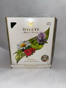 Hyleys 100% Natural 9 Tastes of Assorted Teas Collection - 100 TEABAGS Exp 10/23