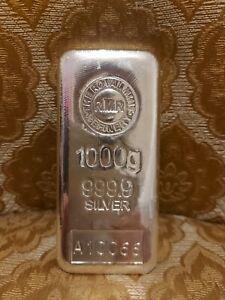 1kg Royal Mint Silver bar ultra fine bar + Certificate