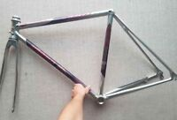 NEW OLD STOCK VITUS 992 COMPETITION OVOID FRAMESET FRAME & FORK VINTAGE