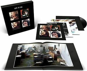 """THE BEATLES - Let it be. 50th ann. ed. deluxe (2021) 4LP+12""""EP+BOOK105 pag."""