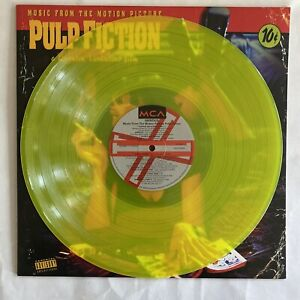 Pulp Fiction : Music From the Motion Picture (Transparent Yellow Vinyl LP) New