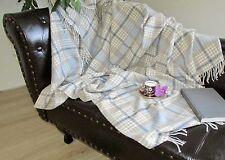 Couverture avec cachemire Part, laine couverture, canapé-couverture 135x190 cm