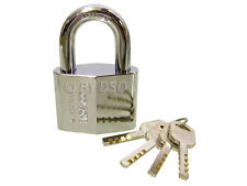 60mm Top Security Brass Padlock with 4 Security Keys
