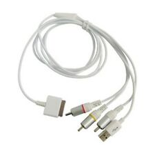 RCA TV AV & USB Data Sync Cable Lead For Apple iPhone 4S 4G 3GS V5.1 OS