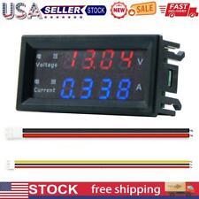 M4430 Digital Voltmeter Ammeter 028 Inch Led Display Volt Amp Panel Meter