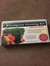 NEW HANDY PANTRY WHEATGRASS GROWING KIT 100% ORGANIC 4 LBS SEEDS ALL YOU NEED