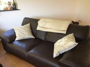 Roche Bobois Ascot sofa 3er 2er 1er und 2 Hocker NP 28 000€ Luxuscouch garnitur