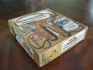 Mattel Shootin' Shell Frontier Double Holster Cap Gun Set Original Box Exc Cond