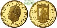 R863) SPANIEN 200 Euro 2006 - Abdankung Karl V. - Gold