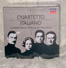 QUARTETTO ITALIANO Complete Decca,Philips,DG  37 CDs, Boxed, Sealed.Shipped FREE