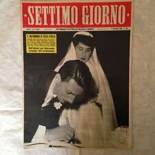 RIVISTA SETTIMO GIORNO 45 11/1952 RAIMONDA CIANO MARLENE DIETRICH LILLONI COPPI