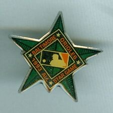 1993 All-Star Game Baltimore Orioles Logo Hat/Lapel Pin 1-1/4 inch Unused