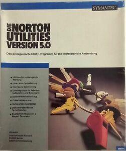 RARITÄT - Symantec Norton Utilities 5.0 - Deutsch