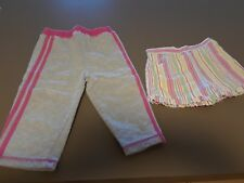 INFANT CLOTHES LOT OF 2 SIZE 12 MO. SHORTS / SIZE 18 MO. KNIT PANTS