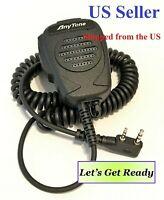AnyTone Handheld Speaker MIC for AT-D878/868 DMR/Analog radio & K Type US Seller