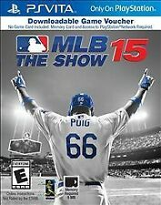 MLB 15 THE SHOW (VOUCHER) VITA SPO NEW VIDEO GAME
