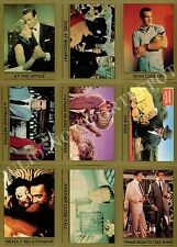 JAMES BOND SERIES 1 1993 ECLIPSE COMPLETE BASE CARD SET OF 110 MOVIE