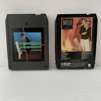 Lot of 2 Vintage 1970s Music 8-Track Tapes Boz Scaggs & Bob Welch Tested