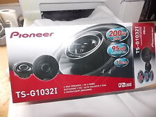 "Pioneer 200 Watts 4"" Inch 10 cm 2 Way Car Front or Rear Door Dash Speakers Pair"